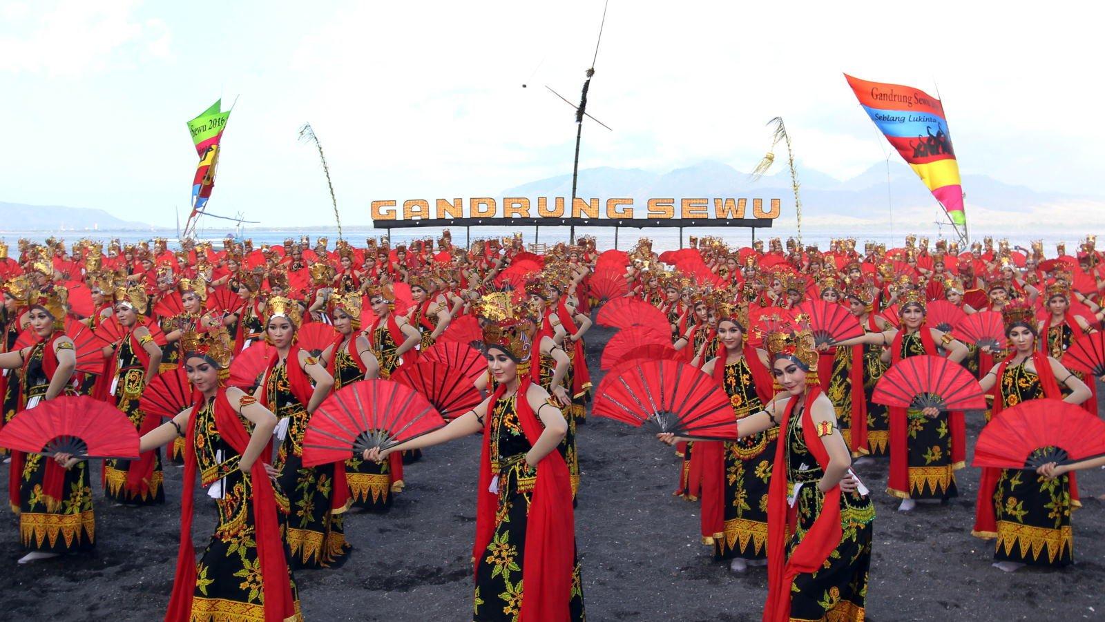 Festival Gandrung Sewu | Sumber: Liputan Jatim