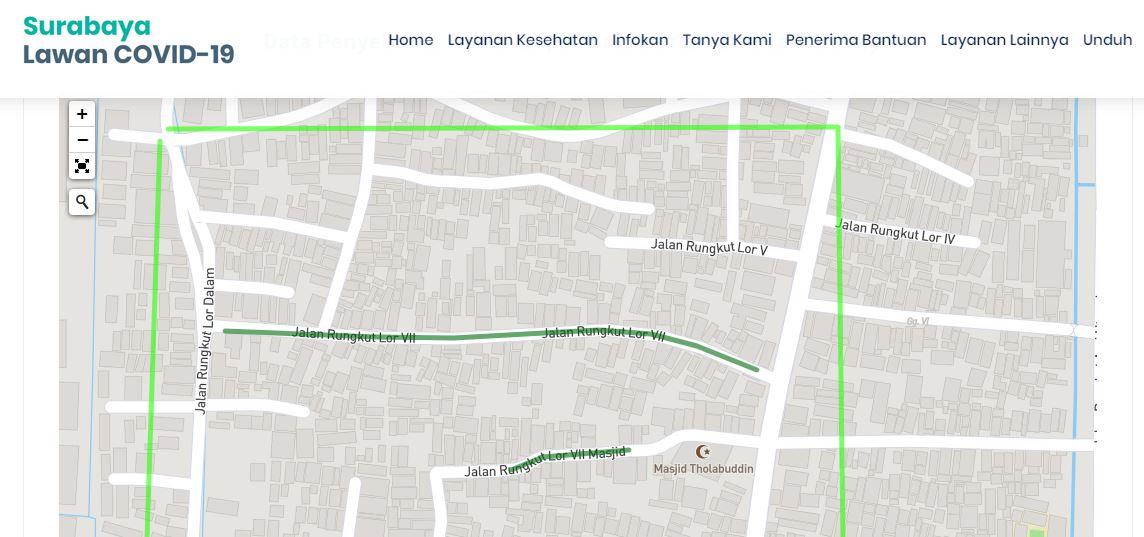 3 Kawasan di Surabaya Berubah Menjadi Zona Hijau - LIPUTAN