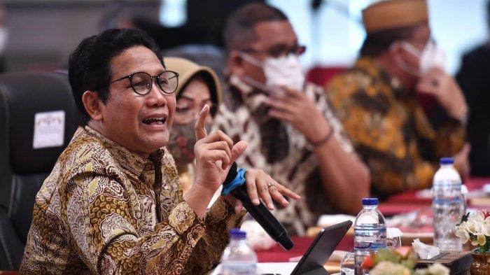 Menteri Desa, Pembangunan Daerah Tertinggal dan Transmigrasi (Mendes PDTT) Abdul Halim Iskandar dalam pembahasan Dana Desa